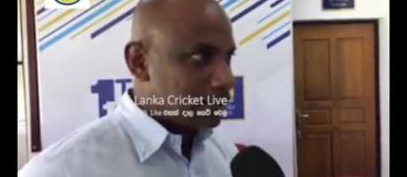 Sanath Said that, Malinda should give an Opportunity