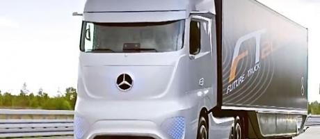 Mercedes Self Driving Truck Driving Itself Mercedes Future Truck 2025 Commercial CARJAM TV 4K 2015