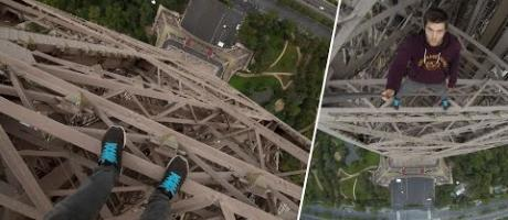 Climbing the Eiffel Tower | James Kingston: POV Adventures |